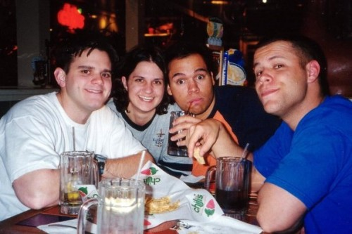 chilis with Alan, Jes, and Scott Sargeant